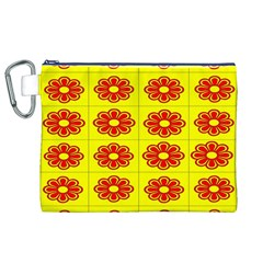 Pattern Design Graphics Colorful Canvas Cosmetic Bag (XL)