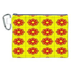 Pattern Design Graphics Colorful Canvas Cosmetic Bag (xxl)
