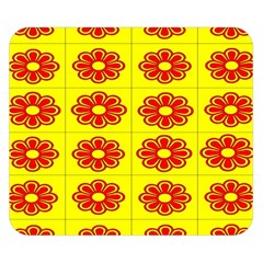 Pattern Design Graphics Colorful Double Sided Flano Blanket (small)