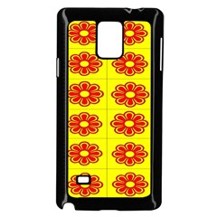 Pattern Design Graphics Colorful Samsung Galaxy Note 4 Case (Black)