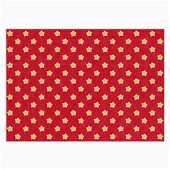 Pattern Felt Background Paper Red Large Glasses Cloth (2 Side)