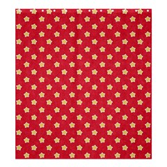 Pattern Felt Background Paper Red Shower Curtain 66  x 72  (Large)