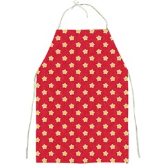 Pattern Felt Background Paper Red Full Print Aprons
