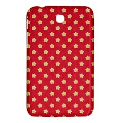 Pattern Felt Background Paper Red Samsung Galaxy Tab 3 (7 ) P3200 Hardshell Case