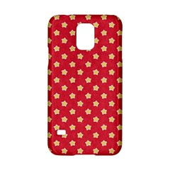 Pattern Felt Background Paper Red Samsung Galaxy S5 Hardshell Case