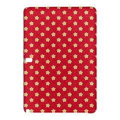 Pattern Felt Background Paper Red Samsung Galaxy Tab Pro 10 1 Hardshell Case