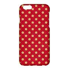 Pattern Felt Background Paper Red Apple Iphone 6 Plus/6s Plus Hardshell Case