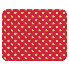 Pattern Felt Background Paper Red Double Sided Flano Blanket (Medium)