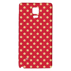 Pattern Felt Background Paper Red Galaxy Note 4 Back Case