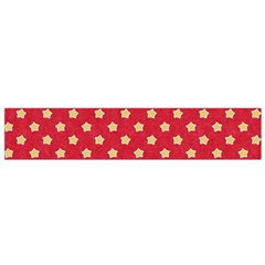 Pattern Felt Background Paper Red Flano Scarf (small)