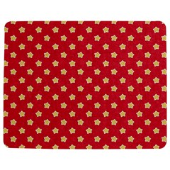 Pattern Felt Background Paper Red Jigsaw Puzzle Photo Stand (Rectangular)