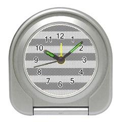 Pattern Half Tone Travel Alarm Clocks