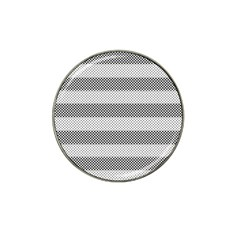 Pattern Half Tone Hat Clip Ball Marker (10 Pack)