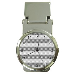 Pattern Half Tone Money Clip Watches