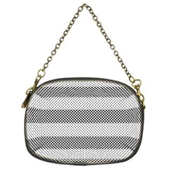 Pattern Half Tone Chain Purses (Two Sides)