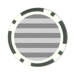 Pattern Half Tone Poker Chip Card Guard (10 pack)