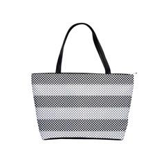 Pattern Half Tone Shoulder Handbags