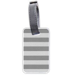 Pattern Half Tone Luggage Tags (Two Sides)