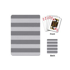 Pattern Half Tone Playing Cards (Mini)