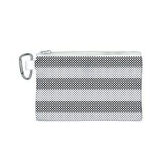 Pattern Half Tone Canvas Cosmetic Bag (S)