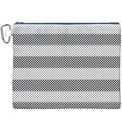 Pattern Half Tone Canvas Cosmetic Bag (XXXL)