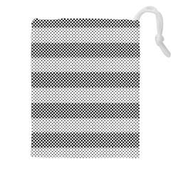 Pattern Half Tone Drawstring Pouches (XXL)