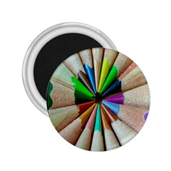 Pen Crayon Color Sharp Red Yellow 2.25  Magnets