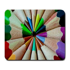 Pen Crayon Color Sharp Red Yellow Large Mousepads