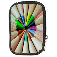 Pen Crayon Color Sharp Red Yellow Compact Camera Cases