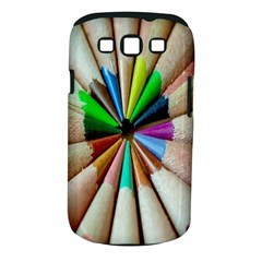 Pen Crayon Color Sharp Red Yellow Samsung Galaxy S Iii Classic Hardshell Case (pc+silicone)