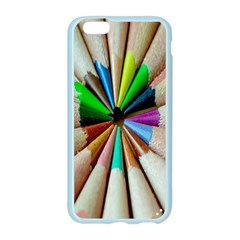 Pen Crayon Color Sharp Red Yellow Apple Seamless iPhone 6/6S Case (Color)