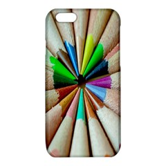 Pen Crayon Color Sharp Red Yellow iPhone 6/6S TPU Case