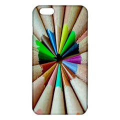 Pen Crayon Color Sharp Red Yellow iPhone 6 Plus/6S Plus TPU Case