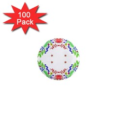 Holiday Festive Background With Space For Writing 1  Mini Magnets (100 pack)