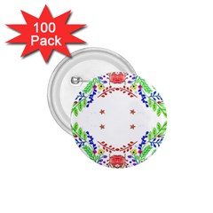 Holiday Festive Background With Space For Writing 1.75  Buttons (100 pack)