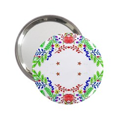 Holiday Festive Background With Space For Writing 2.25  Handbag Mirrors