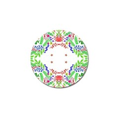 Holiday Festive Background With Space For Writing Golf Ball Marker (10 Pack)