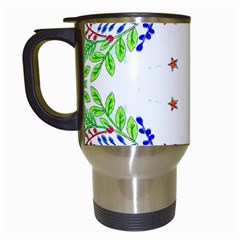 Holiday Festive Background With Space For Writing Travel Mugs (white)