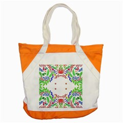Holiday Festive Background With Space For Writing Accent Tote Bag