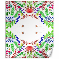 Holiday Festive Background With Space For Writing Canvas 8  x 10
