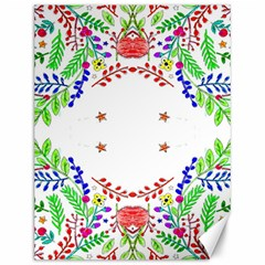 Holiday Festive Background With Space For Writing Canvas 12  x 16