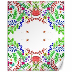 Holiday Festive Background With Space For Writing Canvas 16  x 20