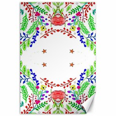 Holiday Festive Background With Space For Writing Canvas 20  x 30
