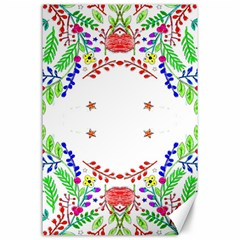 Holiday Festive Background With Space For Writing Canvas 24  X 36