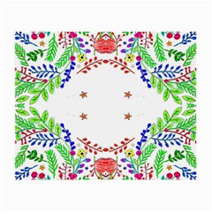 Holiday Festive Background With Space For Writing Small Glasses Cloth (2-Side)