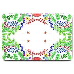 Holiday Festive Background With Space For Writing Large Doormat