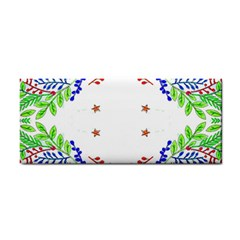 Holiday Festive Background With Space For Writing Cosmetic Storage Cases