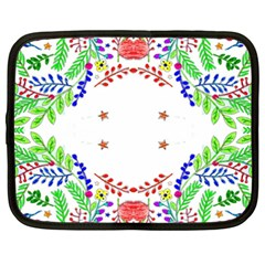 Holiday Festive Background With Space For Writing Netbook Case (XXL)