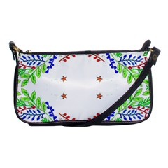Holiday Festive Background With Space For Writing Shoulder Clutch Bags