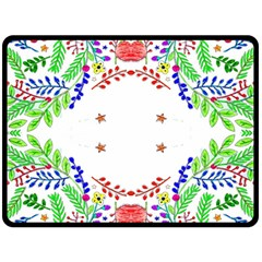 Holiday Festive Background With Space For Writing Fleece Blanket (Large)